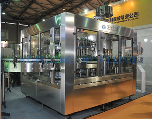 Glass Bottle Carbonated Soft Drinks Filling Line