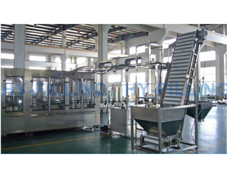 Large Bottle Water Filling Line