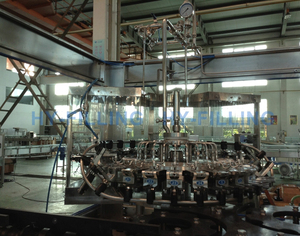 Glass Bottle Hot Filling Line